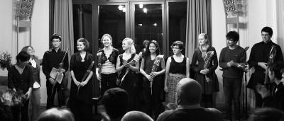 Studierende beim Abschlusskonzert des 7. Internationalen Meisterkurses für Viola 2014